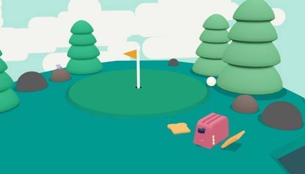 高尔夫球模拟器