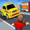 交通出租车跑