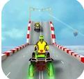 四轮摩托车特技驾驶