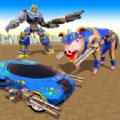 猪机器人汽车变换