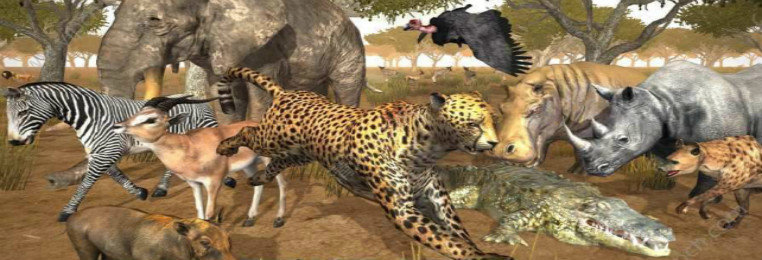 动物生存手机游戏大全
