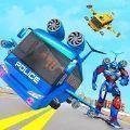 警察巴士机器人2020
