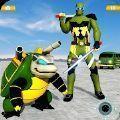 乌龟英雄汽车变形机器人射击