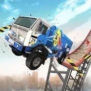 特技卡车跳跃