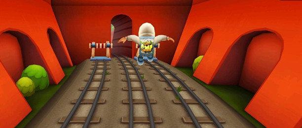 地铁上跑酷的游戏合集