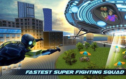 飞行超级英雄战争