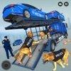 美国警方火车卡车停车场