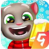 汤姆猫跑酷滑雪板