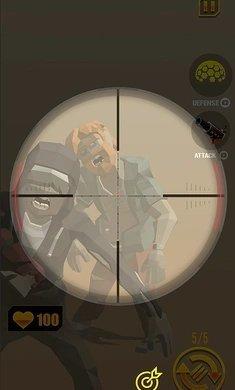 僵尸射手射击游戏破解版