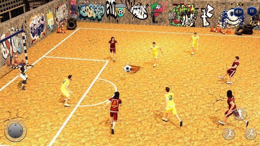 街头足球五人制足球