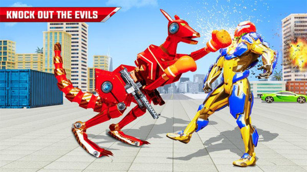 袋鼠机器人搏击