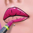 唇彩化妆师