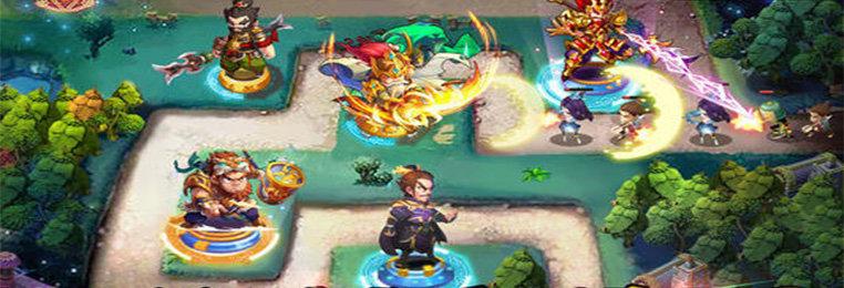 有英雄的三国塔防游戏-有英雄能放技能的三国塔防游戏下载