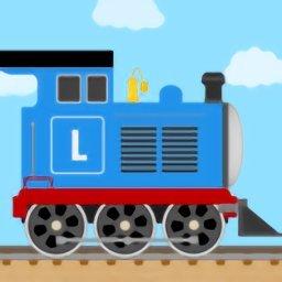 积木火车儿童