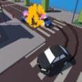 城市碰撞汽车
