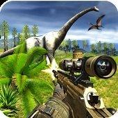 恐龙射击或狩猎