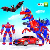 飞行恐龙变形机器人